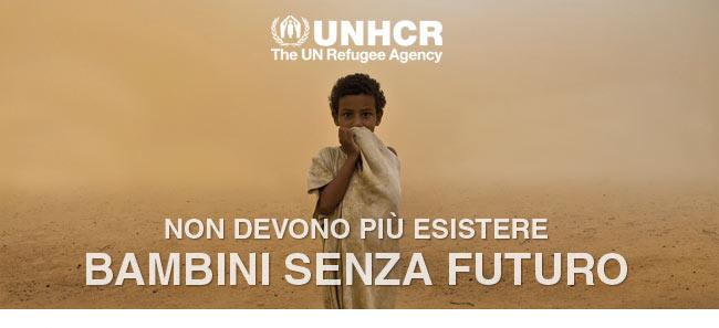 UNHCR | Non devono più esistere bambini senza futuro
