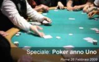una legge chiara e subito sul Texas Hold'em live!
