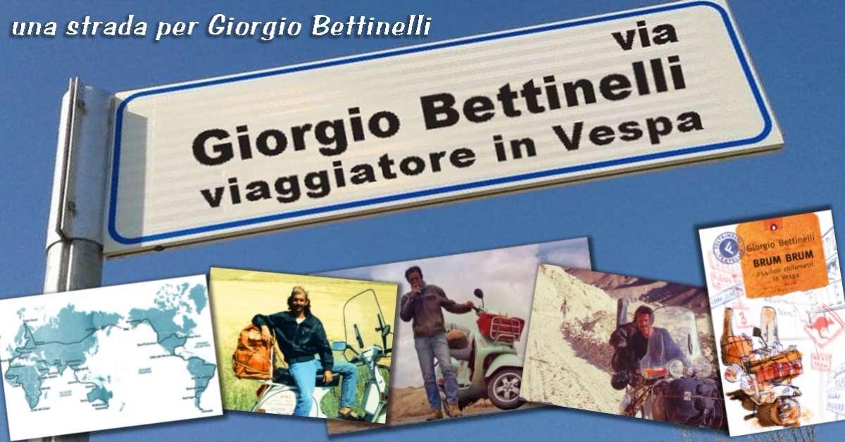 Una strada per Giorgio Bettinelli