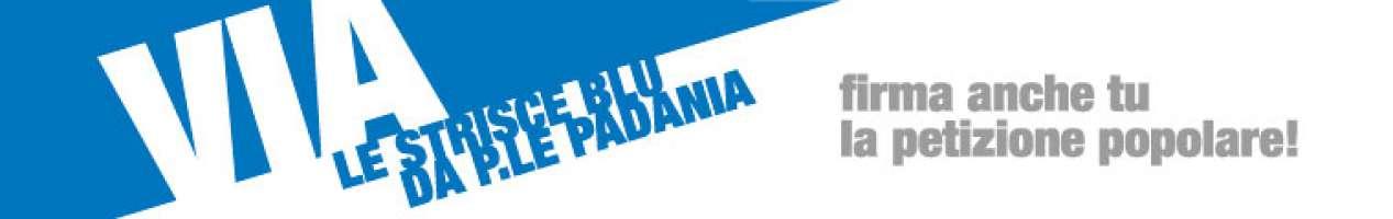 via le strisce blu da P.le Padania