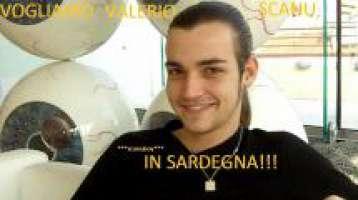 Vogliamo Valerio Scanu in Sardegna!