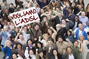 Vogliamo l'ADSL a Passatempo fi Osimo