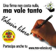 Petizione per la ricostituzione della Comunità Valsesiana