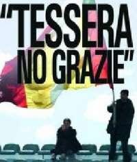 NO ALLA TESSERA DEL TIFOSO