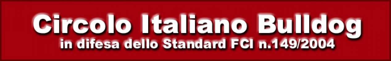 BULLDOG INGLESE - IN DIFESA DELLO STANDARD FCI N.149