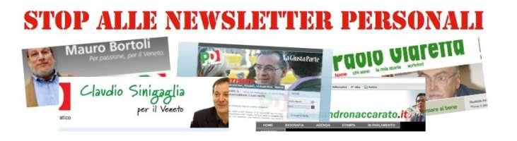Appello per una sola newsletter provinciale del PD di Padova