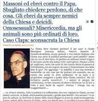 Fermiamo Monsignor Babini!