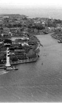 Le case ex caserma Manin,e quelle alle Conterie ai Veneziani