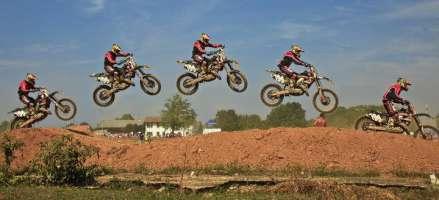 Pista di motocross a Boffalora (MI)