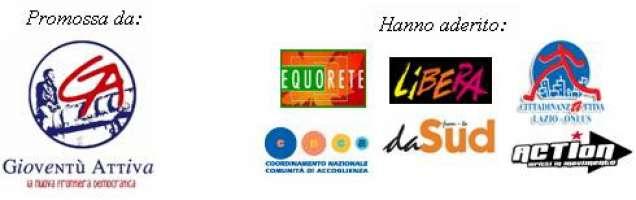 Petizione popolare per l'assegnazione e il monitoraggio dei beni confiscati a Roma e nel Lazio