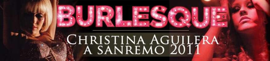 CHRISTINA AGUILERA A SANREMO 2011!
