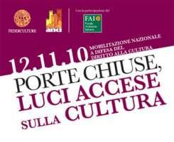 Genova, Porte chiuse, Luci accese sulla Cultura - 12 novembre 2010