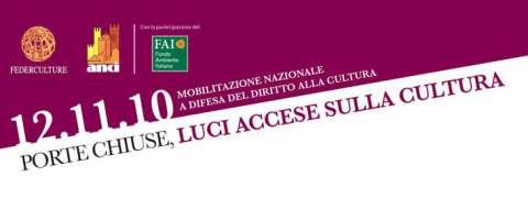 Genova, porte chiuse, luci accese sulla Cultura