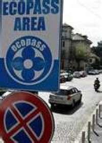 stop all'ecopass a Milano