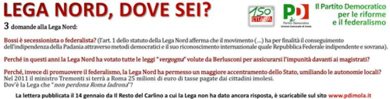 Lega Nord, dove sei?