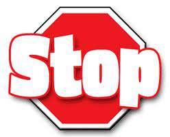 stop con l'abbandono