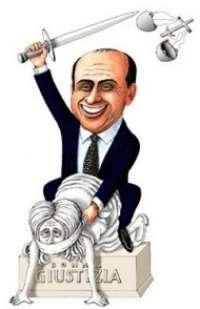 Se Berlusconi cambia la Giustizia lo cacciamo con la forza.