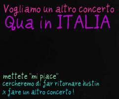 Vogliamo un altro concerto di Justin Bieber in ITALIA