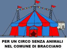 per un circo senza animali nel comune di bracciano