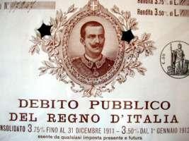 Vogliamo un'indagine sul debito pubblico italiano