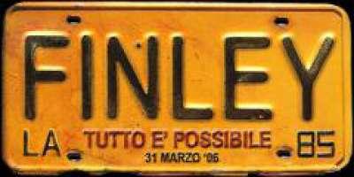 Finley in Piemonte