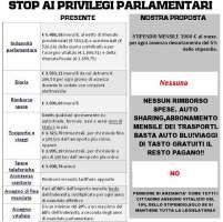 Stop ai privilegi parlamentari