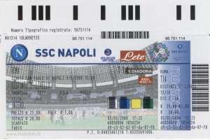 Biglietti della SSC Napoli in vendita online