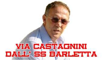 Firma per esonerare il DS Renzo Castagnini dal Barletta!
