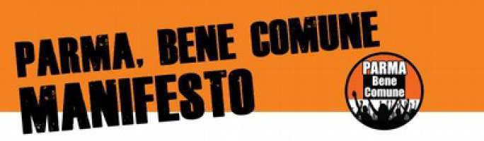 Manifesto - ParmaBeneComune