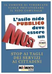 CAMPAGNA SALVIAMO L'ASILO NIDO COMUNALE DI VIMERCATE