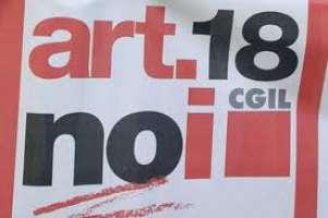 Modifica all'articolo 18:NOI DICIAMO NO!!