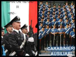 Richiamo Carabinieri Ausiliari inCongedo