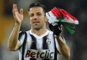 Del Piero bianconero a vita