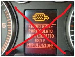 Eliminazione filtro antiparticolato dalla auto Diesel