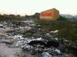 Richiesta rimozione rifiuti Boscofangone (Nola)