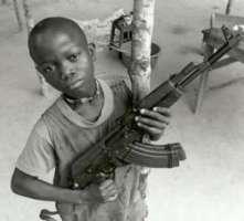 Stop all'uso di bambini soldato