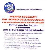 PDL - Firma anche tu per chiedere sicurezza nelle strade