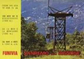 Firmiamo per ripristinare la Funivia Sanremo-Monte Bignone