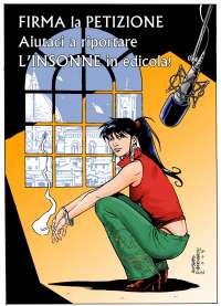 Aiutaci a riportare il fumetto L'Insonne in edicola