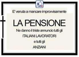 revisione importo massimo e minimo pensione