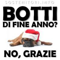 No ai botti di capodanno a Vicenza e provincia.
