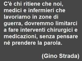 Gino Strada ministro della sanità.