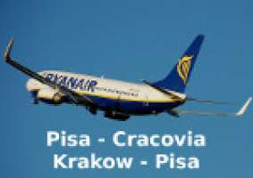 We want Pisa Cracow flights all year round