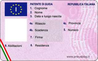 Adeguamento alle leggi europee in merito a patenti di guida