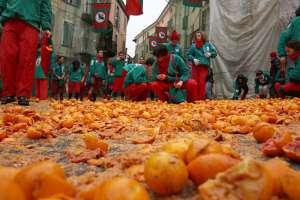 Stop alla battaglia vergognosa delle arance