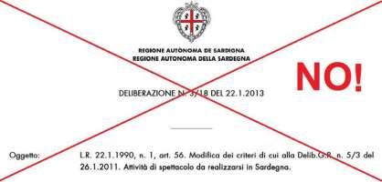 Assessore Milia Ritiri la delibera N. 3/18 del 22/01/2013