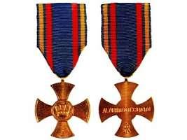 Croce di bronzo al merito per tutte le vittime del dovere