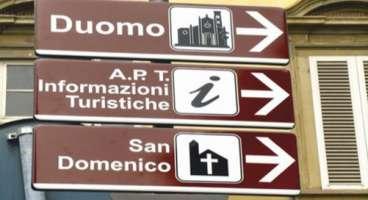 Vogliamo un'adeguata segnaletica monumentale a Teramo.
