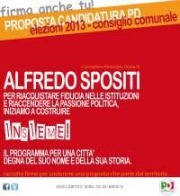 Sostieni Alfredo Spositi