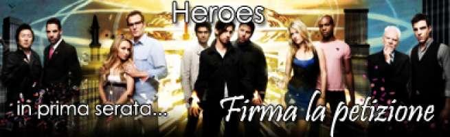 Heroes in prima serata